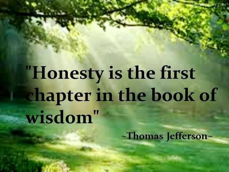 Trust And Honesty Quotes Sayings Trust And Honesty Picture Quotes