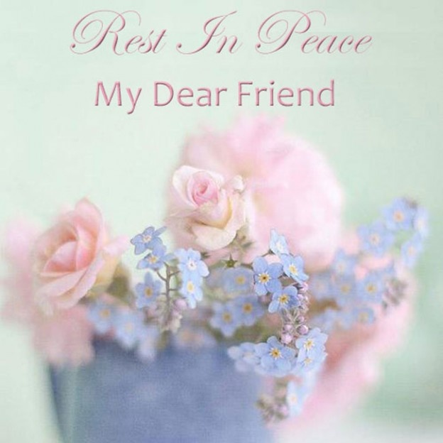 Rest In Peace Quote For Friends | Quote Number 571344 | Picture Quotes