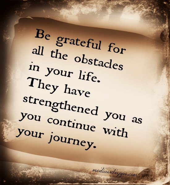 Being Thankful Quote For Life | Quote Number 578119 | Picture Quotes