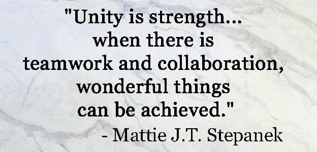Team Unity Quote 1 Picture Quote #1
