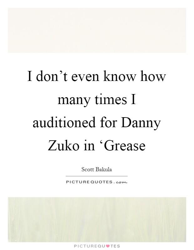 Danny Zuko Quotes