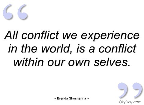Conflict Quote | Quote Number 678365 | Picture Quotes