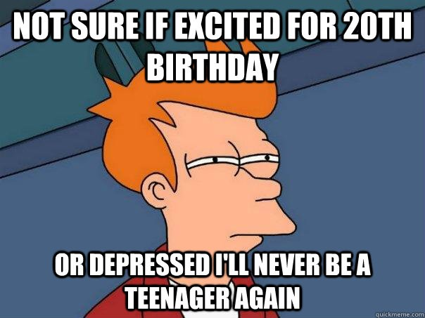 20th Birthday Quotes Happy 20th Birthday Quote | Quote Number 682203 | Picture Quotes 20th Birthday Quotes