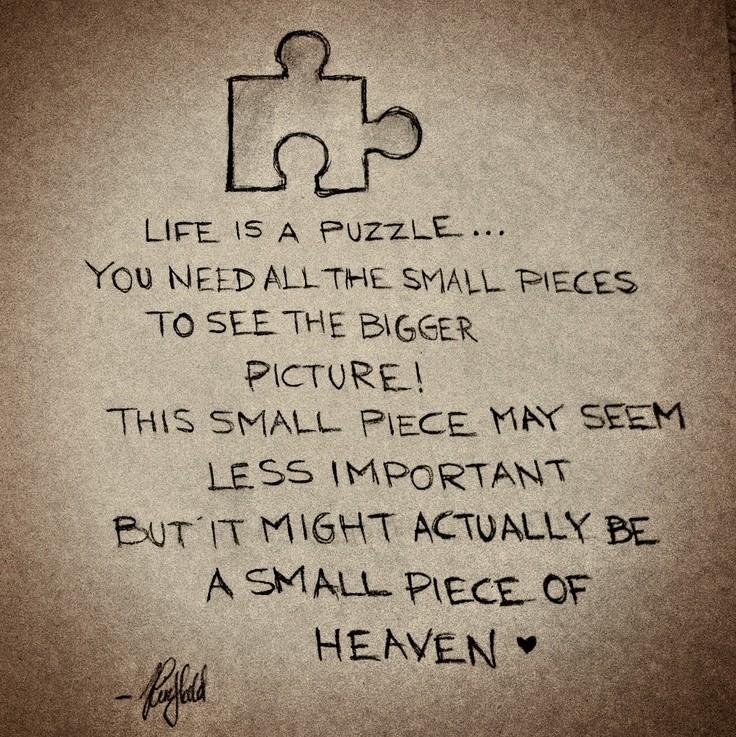 Lyric puzzle pieces lyrics : Puzzle Quotes   Puzzle Sayings   Puzzle Picture Quotes