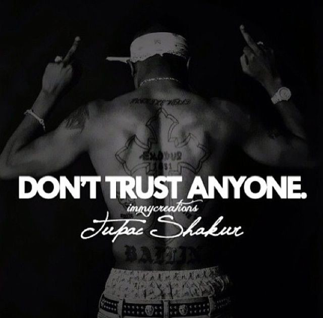 Never Trust Anyone Quote Quote Number 694366 Picture Quotes