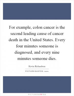 Fiber Has A Beneficial Effect In Preventing Colon Cancer Picture Quotes