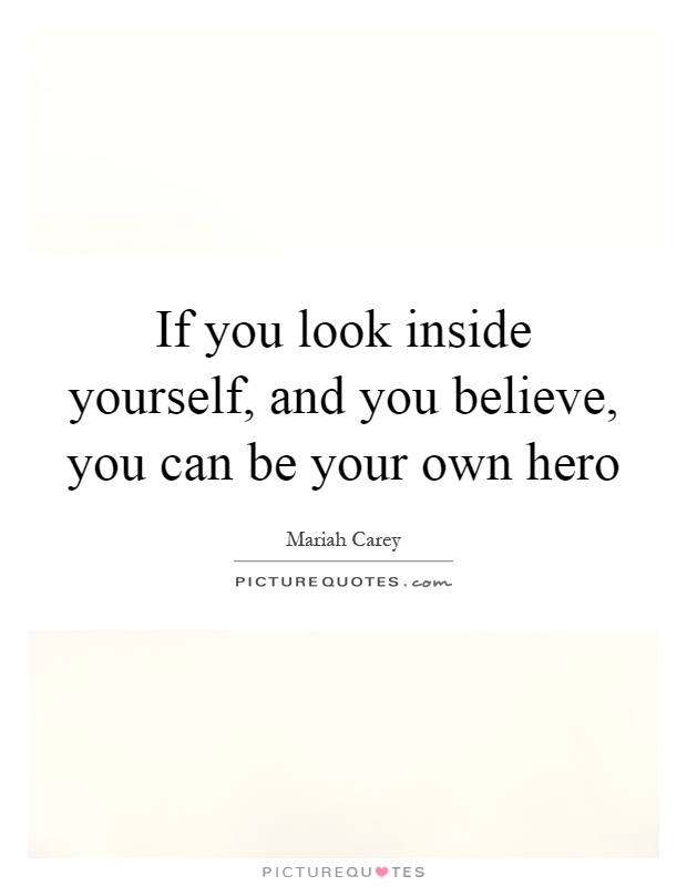 If You Look Inside Yourself And