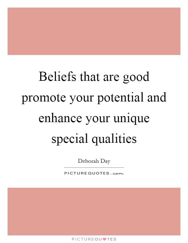 Good Beliefs